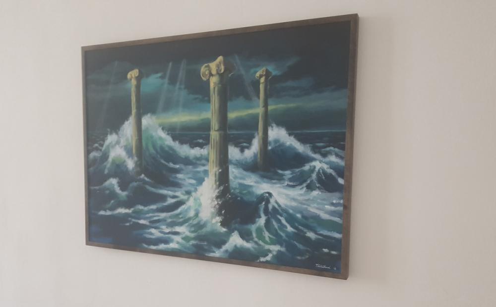 Sloupy v moři zapomění