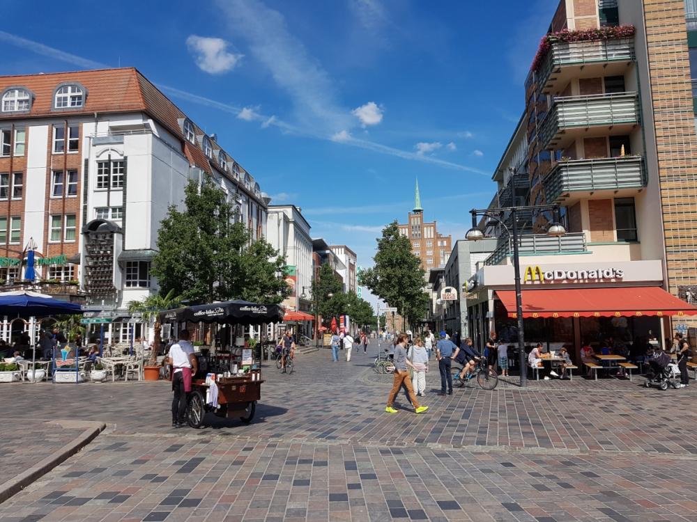 Centrum města Rostock