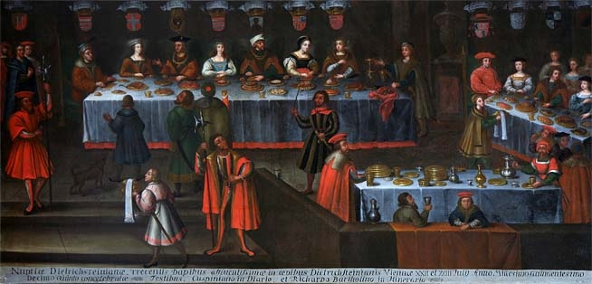 Ditrichštejnská svatba 22. července 1515