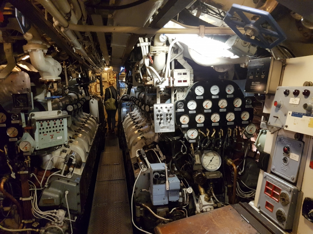 Prohlídka HMS Otus