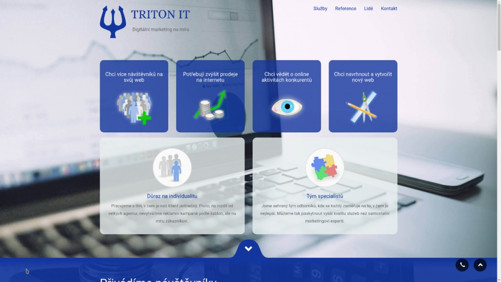 Nový web TRITON IT