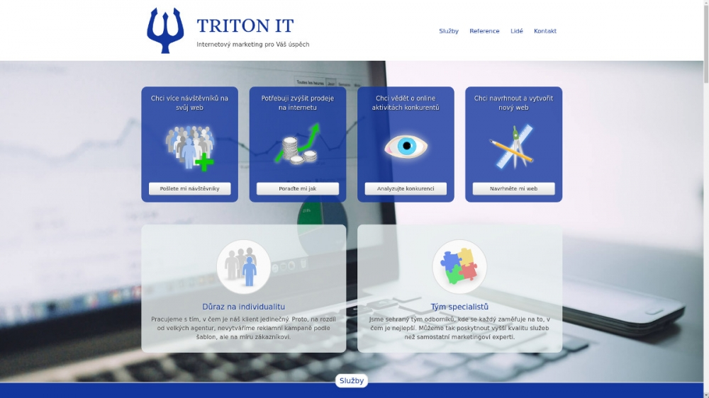 Starý web TRITON IT